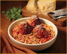 Spaghetti & Meatballs at Romano's Macaroni Grill
