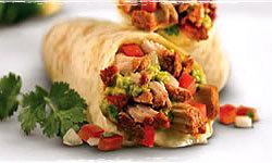 Baja Burrito at Baja Fresh Mexican Grill