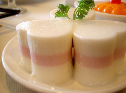 Photo of Chilled Coconut and Taro Pudding