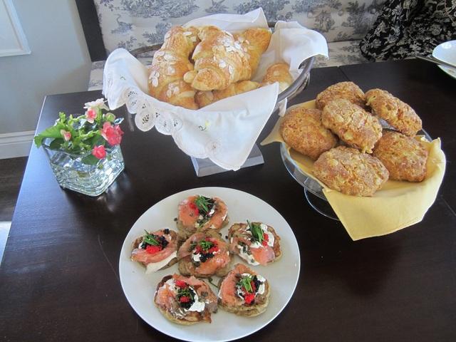 Fresh Breads at Bistro Stasha