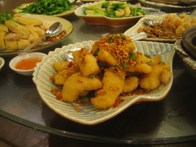 Salt & Pepper Flounder Fillet at Hong Kong Saigon Seafood Harbor Restaurant