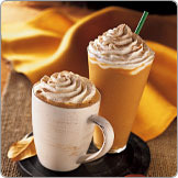 Pumpkin Spice Frappuccino® Blended Coffee at Tully's Coffee