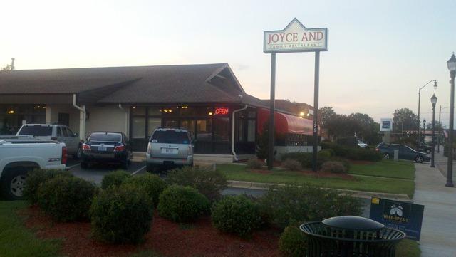 Joyce And Family Restaurant Menu