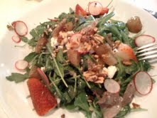 Duck Confit Salad at Beausoleil Restaurant and Bar