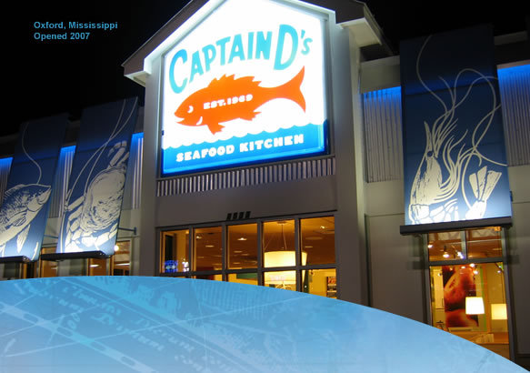 Exterior at Captain D's Seafood