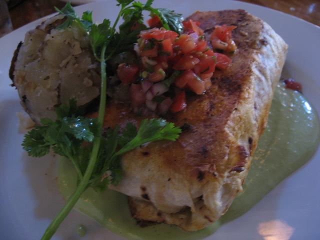 Burrito at Jane's