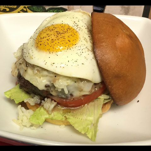 Loco Moco Fat Burger at Fat Fish OC
