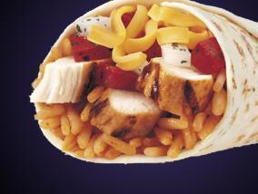 FIESTA BURRITO at Taco Bell