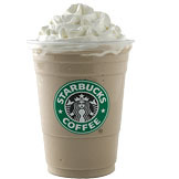 White Chocolate Mocha Frappuccino® Blended Coffee at Tully's Coffee