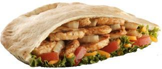 Chicken Fajita Pita at Jack in the Box