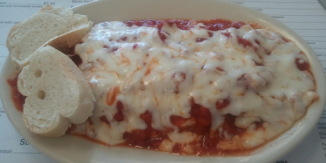 Vegetarian Lasagna at Mama Theresa'