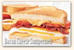 Bacon & Cheese Super Melt at Friendly's