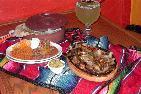 Fajitas at Julios catering