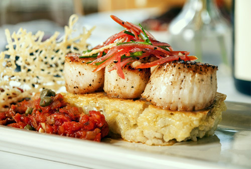 Sea Scallops at Cafe Murrayhill