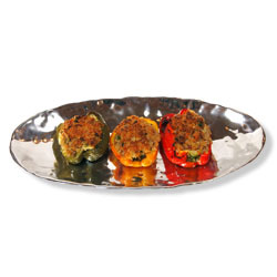 Either Vegetable and Rice or Sausage and Rice stuffing - Stuffed Peppers at Latona's Specialty Foods