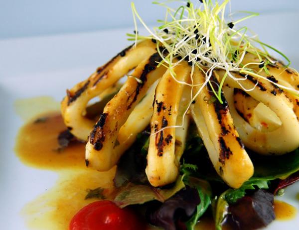 Thai Calamari at Rude Native Bistro & Lounge- Burlington