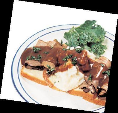 Hot Turkey or Hot Beef Sandwich Plate at Country Waffles