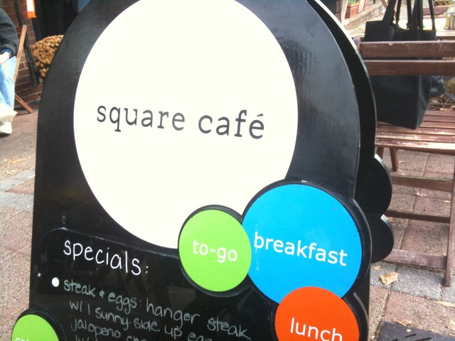 Exterior at Square Cafe