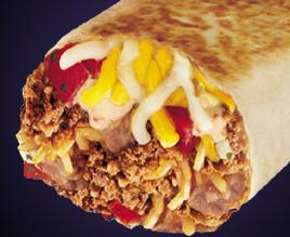 GRILLED STUFT BURRITO at Taco Bell