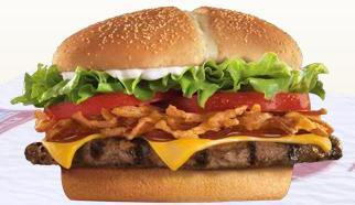 Steakhouse Burger at Burger King