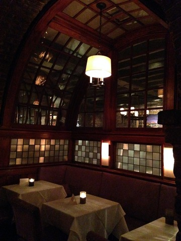 Alternate View of the Intimate Dining Nook in the Lounge - Interior at McCrady's