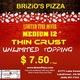 Photo at Brizio's Pizza