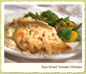 SUN-DRIED TOMATO CHICKEN at Coco's