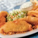 3 pc Classic batter dipped fish at Captain D's Seafood