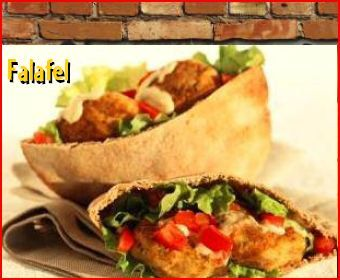 Felafel at Grillicious Cafe