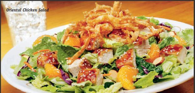 Oriental Chicken Salad at Friendly's