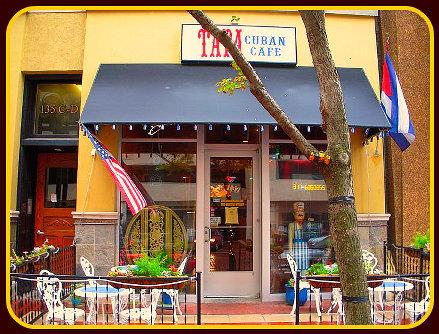 Exterior at TaTa Cuban Cafe