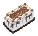 Chocolate Caramel Turtle Cake at Dunkin' Donuts/Baskin Robbins