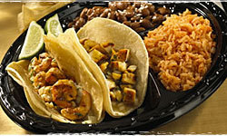 Taco Combo at Baja Fresh Mexican Grill