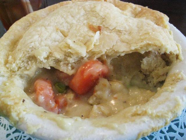 Chicken Pot Pie at Bake N' Broil