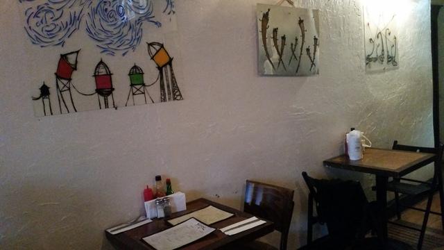 Local artists' stuff - Interior at Juniper