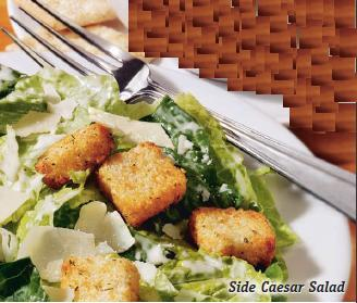 Side Caesar Salad at Friendly's