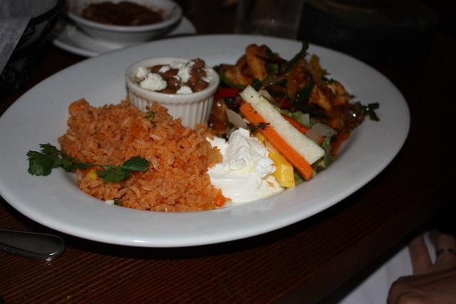 Chicken Fajitas at Taleo Mexican Grill