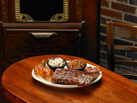 BBQ Trio at Sticky Fingers RibHouse