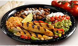 Fajitas at Baja Fresh Mexican Grill