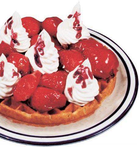 Strawberry at Country Waffles
