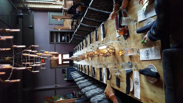 Interior at Kindred Restaurant