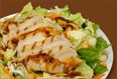 Asian Chicken Salad at Manhattan Bagel