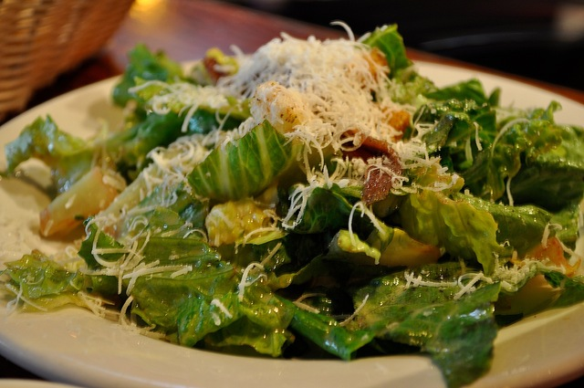 Pretty darned good - Caesar Salad for one at Cherry Tomato