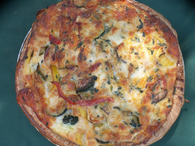 Quiche at The Green Tomato Kitchen