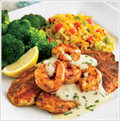 New Orleans Seafood at Ruby Tuesday