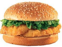 Fish Sandwich at Jack in the Box