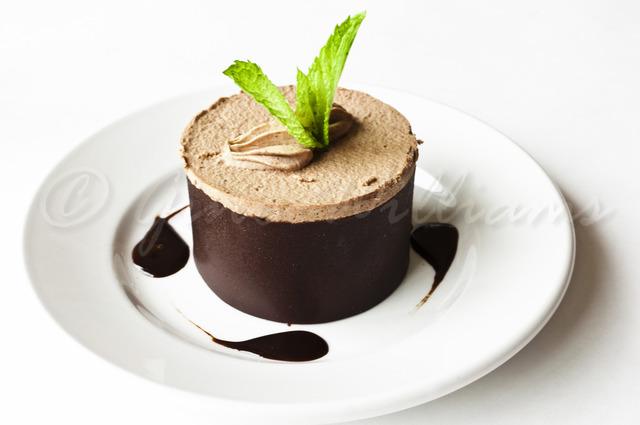 Mocha Chocolate Flourless Cake at Kabul House Restaurant