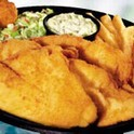 Coastal Fried Flounder at Captain D's Seafood