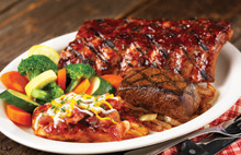 MIXED GRILL TRIO at Bugaboo Creek Steak House