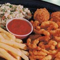 Fried Clam Platter at Captain D's Seafood